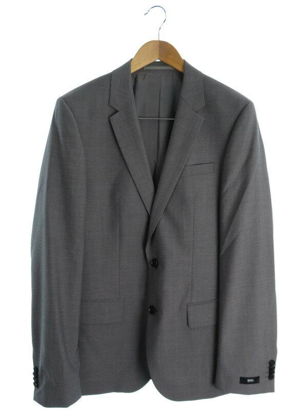 【HUGO BOSS】【上下セット】ヒューゴボス『スーツ size94』メンズ 1週間保証【中古】