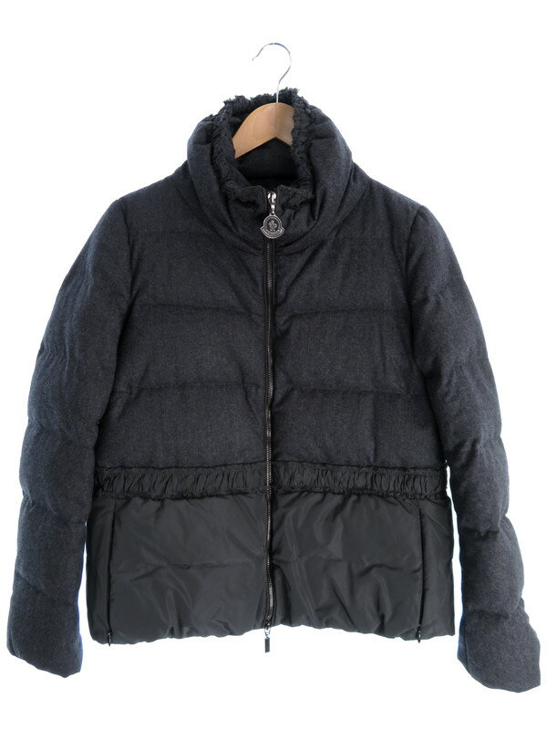【MONCLER】【アウター】モンクレール『ARGENTEE ダウンジャケット size1』レディース ブルゾン 1週間保証【中古】