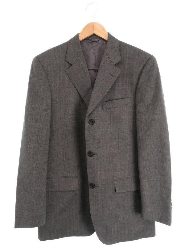 【CERRUTI 1881】【上下セット】セルッティ1881『ウール シングルスーツ』メンズ セットアップ 1週間保証【中古】