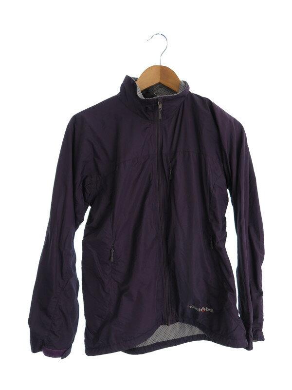 【mont・bell】【アウター】モンベル『ナイロンジャケット sizeM 巾着袋付』レディース ブルゾン 1週間保証【中古】