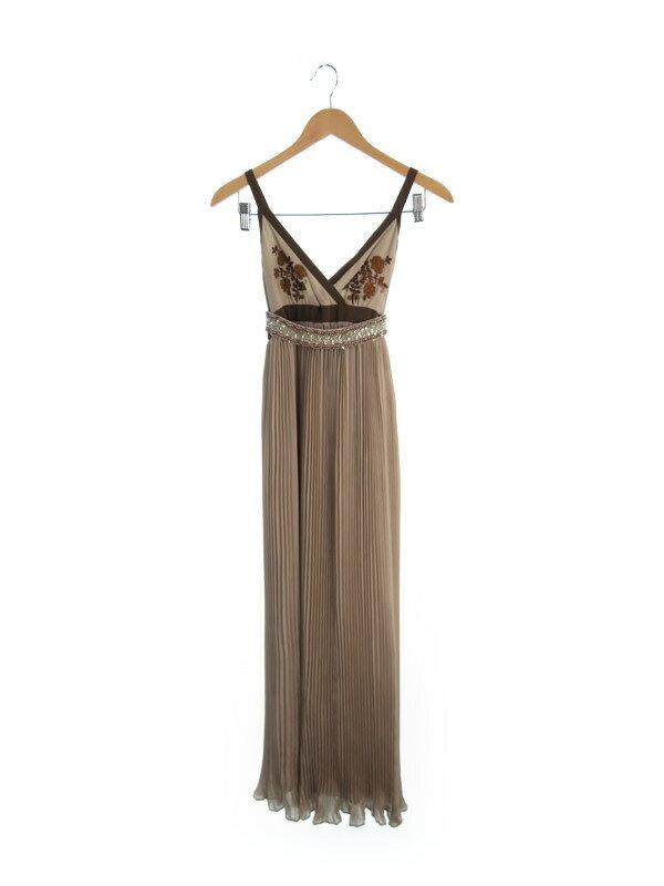 【GRACE CLASS】グレースクラス『ロングドレス size36 ベルト付』レディース イブニングドレス 1週間保証【中古】