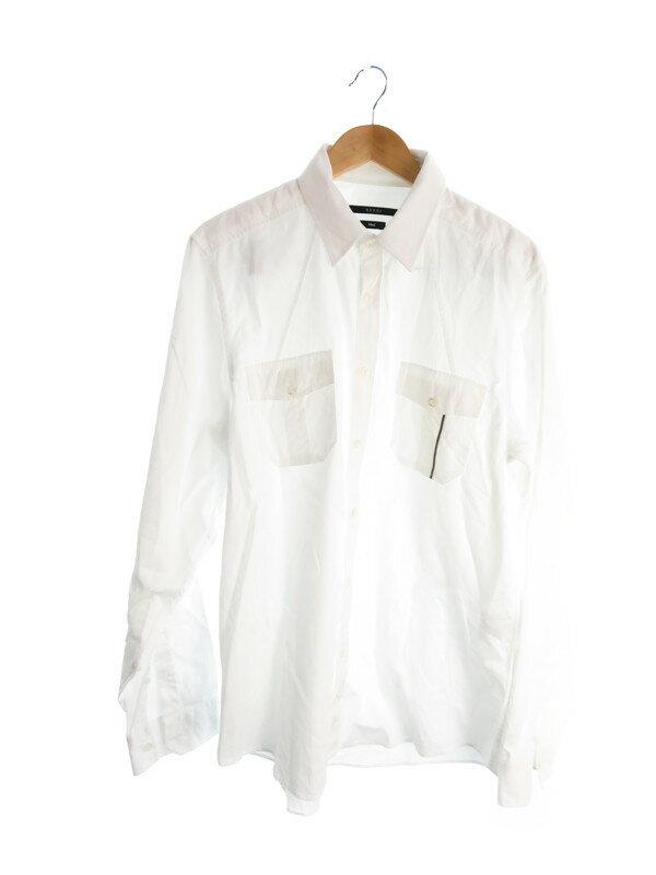 【GUCCI】【トップス】グッチ『長袖シャツ size43/17』メンズ 1週間保証【中古】
