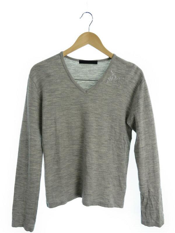 【roar】【トップス】ロアー『スタッズ付長袖Tシャツ size2』メンズ カットソー 1週間保証【中古】