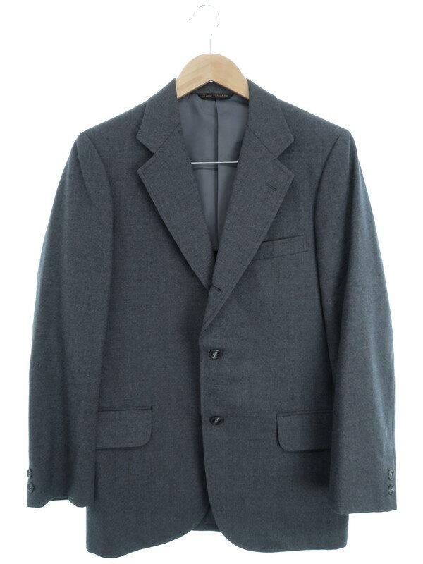 【NEWYORKER】【上下セット】ニューヨーカー『ウールセットアップスーツ sizeY6』メンズ 1週間保証【中古】