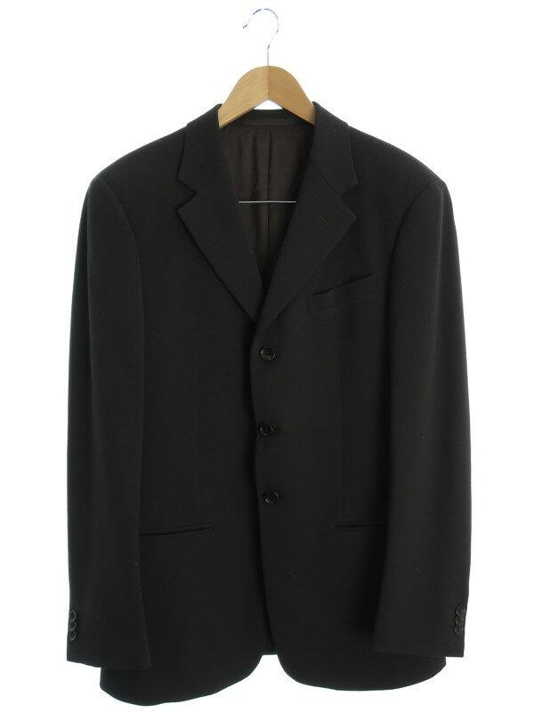 【ARMANI COLLEZIONI】【上下セット】アルマーニコレッツォーニ『スーツ size48/R』メンズ セットアップ 1週間保証【中古】