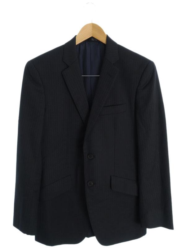 【Paul Smith LONDON】【上下セット】ポールスミス『ストライプ柄スーツ sizeM』メンズ セットアップ 1週間保証【中古】