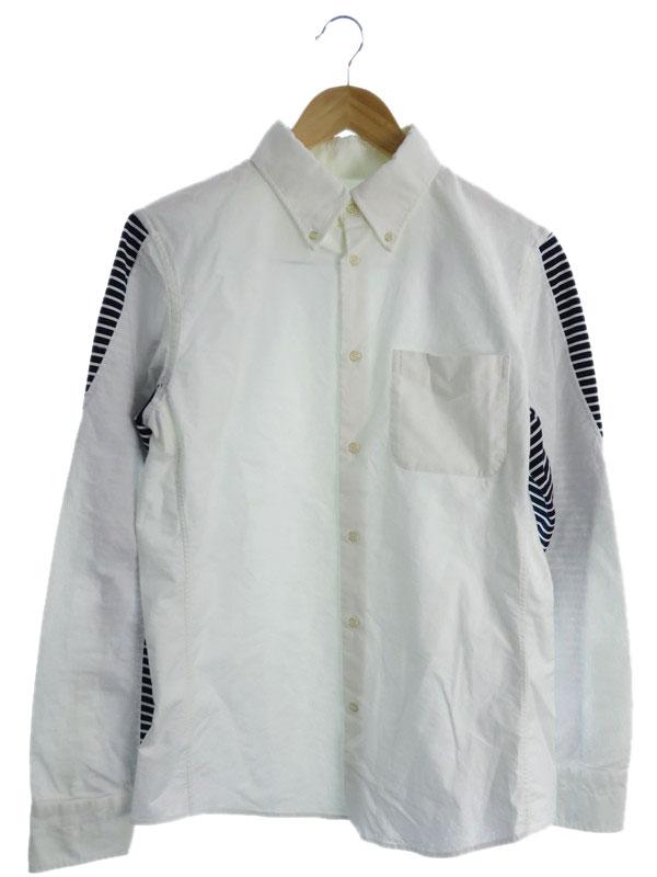 【1piu1uguale3】【トップス】ウノピゥウノウグァーレトレ『長袖ボタンダウンシャツ』メンズ 1週間保証【中古】