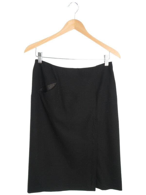【FENDI】【ボトムス】フェンディ『スリットスカート size40』レディース 1週間保証【中古】