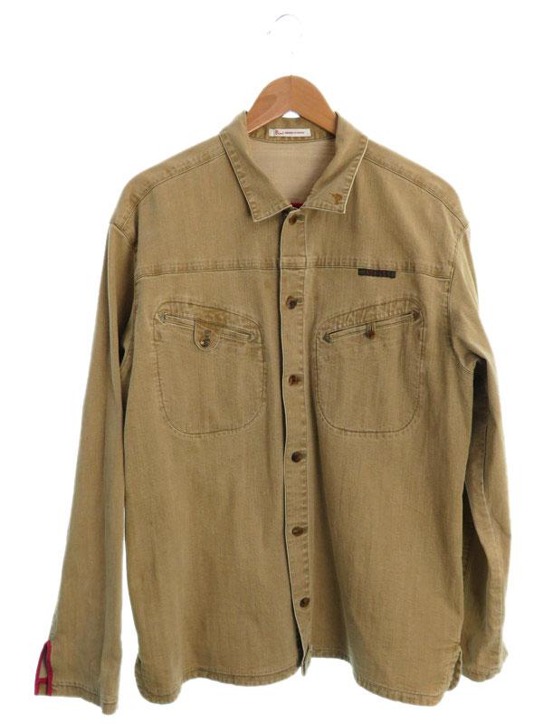 【PAPAS】パパス『シャツパンツ上下セット size50 L』メンズ セットアップ 1週間保証【中古】