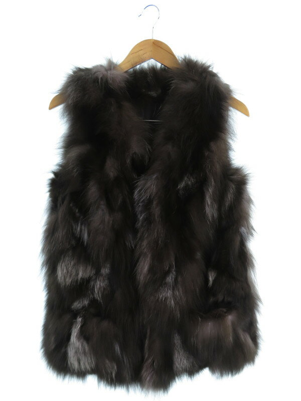 【GRACE CONTINENTAL】【トップス】グレースコンチネンタル『毛皮ベスト size36』レディース 1週間保証【中古】