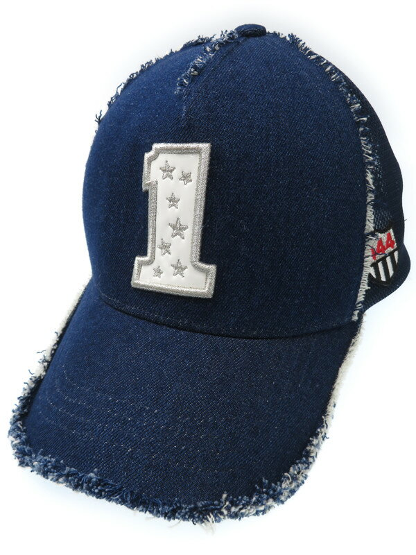 【Yoshinori Kotake】ヨシノリコタケ『1ロゴ メッシュキャップ』メンズ 帽子 1週間保証【中古】