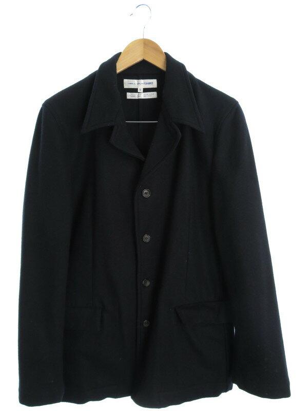 【COMME des GARCONS SHIRT】【アウター】コムデギャルソンシャツ『ウール混コート sizeM』メンズ 1週間保証【中古】