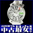 ガガミラノ『マヌアーレ 40mm』5025.1 ユニセックス クォーツ 1ヶ月保証【中古】b05w/h10SA