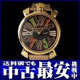 ガガミラノ『マヌアーレ スリム 46mm』メンズ クォーツ 1ヶ月保証【中古】b05w/h12AB