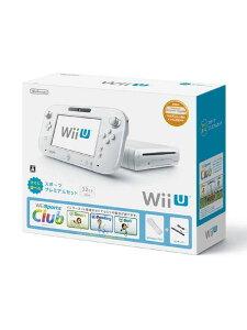 任天堂『WiiU(ウィーユー)すぐに遊べるスポーツプレミアムセット』シロWUP-S-WAFUゲーム機本体【訳あり】【新品】b00e/N