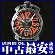 ガガミラノ『マヌアーレ 48mm』5016.8 メンズ 手巻き 3ヶ月保証【中古】b02w/h19AB