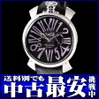 ガガミラノ『マヌアーレ スリム 46mm』5084.01 メンズ クォーツ 1ヶ月保証【中古】b01w/h03A
