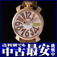 ガガミラノ『マヌアーレ 40mm』5026.4 レディース クォーツ 1ヶ月保証【中古】b03w/h16B