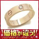 カルティエ『ミニ ラブリング 1Pダイヤ』レディース 1週間保証【中古】b01j/h02A