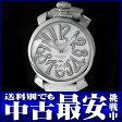 ガガミラノ『マヌアーレ 48』5010.10S メンズ 手巻き 1ヶ月保証【中古】b01w/h05AB