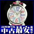 ガガミラノ『マヌアーレ 40mm』5020.7 レディース クォーツ 1週間保証【中古】b03w/h15B