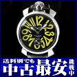 ガガミラノ『マヌアーレ 48』5010.12S メンズ 手巻き 1ヶ月保証【中古】b02w/h03AB