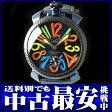 ガガミラノ『マヌアーレ 48mm』5016.4 メンズ 手巻き 1ヶ月保証【中古】b03w/h06A