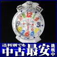 ガガミラノ『マヌアーレ クロノグラフ 48mm』6050.1 メンズ クォーツ 1ヶ月保証【中古】b06w/h17B