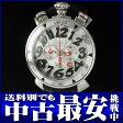 ガガミラノ『マヌアーレ クロノグラフ 48mm』6050.7 メンズ クォーツ 1ヶ月保証【中古】b02w/h18B