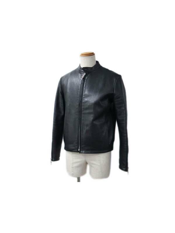 【CHROME HEARTS】クロムハーツ『レーシング2ライダースジャケット sizeS』メンズ 1週間保証【中古】