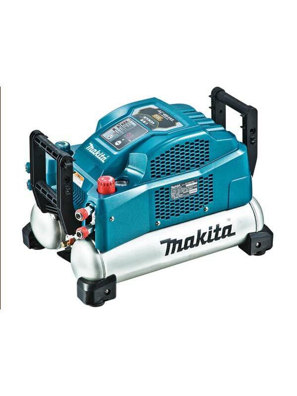 マキタ『エアコンプレッサ』AC461XL 青 46気圧 11Lタンク 一般圧/高圧 静音モード 2台連結対応【中古】b06t/h17S