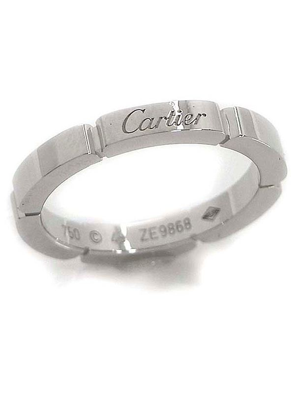 【Cartier】【仕上済】カルティエ『マイヨン パンテール ドゥ カルティエ リング』9号 1週間保証【中古】