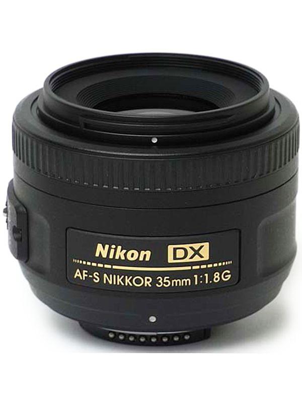 �j�R���wAF-S DX NIKKOR 35mm f/1.8G�xAFSDX3518G 52.5mm���� �f�W�^�����t�J�����p�����Y 1�T�ԕۏy���Áz