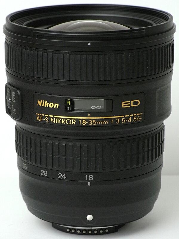 �j�R���wAF-S NIKKOR 18-35mm f/3.5-4.5G ED�xAF-S18-35G FX�t�H�[�}�b�g ���t�J�����p�����Y 1�T�ԕۏy���Áz