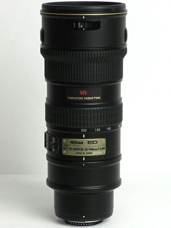 �j�R���wAF-S VR Zoom-Nikkor ED 70-200mm F2.8G(IF)�xAFSVR70-200G �u���b�N FX�t�H�[�}�b�g �f�W�^�����t�J�����p�����Y 1�T�ԕۏy���Áz