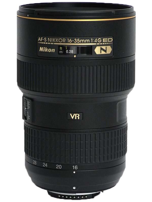 �j�R���wAF-S NIKKOR 16-35mm f/4G ED VR�xAFS1635GVR FX�t�H�[�}�b�g �f�W�^�����t�J�����p�����Y 1�T�ԕۏy���Áz