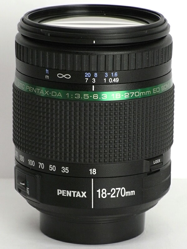 �y���^�b�N�X�wsmc PENTAX-DA 18-270mmF3.5-6.3ED SDM�x27.5-414mm���� �f�W�^�����t�J�����p�����Y 1�T�ԕۏy���Áz