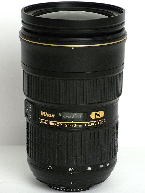 �j�R���wAF-S NIKKOR 24-70mm f/2.8G ED�xAFS24-70G FX�t�H�[�}�b�g �f�W�^�����t�J�����p�����Y 1�T�ԕۏy���Áz