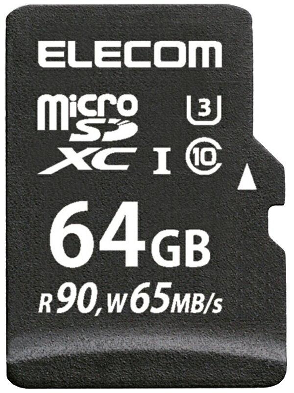 �G���R���wmicroSDXC�������J�[�h�xMF-CMS064GU13R 64GB UHS-I U3 �N���X10 �ǂݏo���ő�90MB/s�y�V�i�z