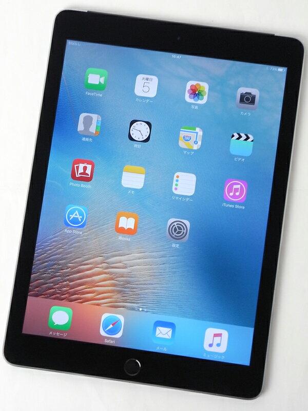 �A�b�v���wiPad Air 2 Wi-Fi + Cellular 128GB SIM�t���[�xMGWL2J/A �X�y�[�X�O���C ������ �^�u���b�g�y���Áz