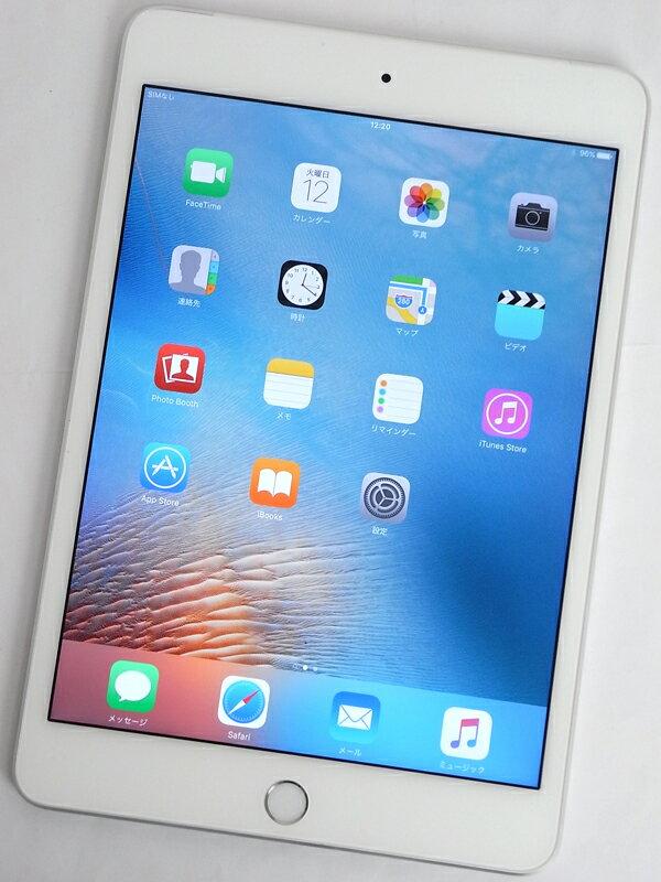 �A�b�v���wiPad mini 4 Wi-Fi + Cellular 16GB docomo�xMK702J/A �V���o�[ ������ �^�u���b�g�y���Áz