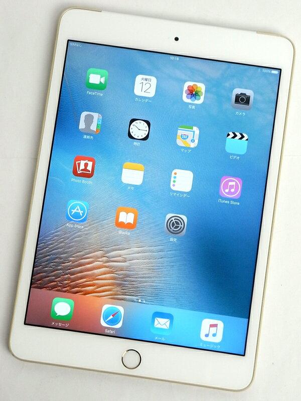 �A�b�v���wiPad mini 3 Wi-Fi + Cellular 16GB docomo�xMGYR2J/A �S�[���h ������ �^�u���b�g�y���Áz