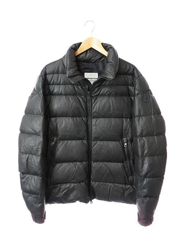 【MONCLER】【2013年秋冬】モンクレール『GABERIC ダウンジャケット size6』メンズ ブルゾン 1週間保証【中古】