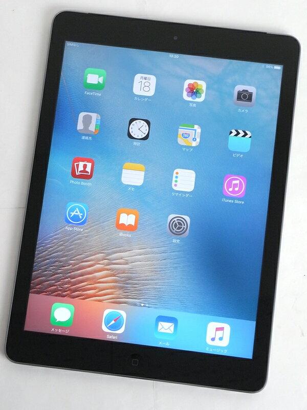 �A�b�v���wiPad Air Wi-Fi + Cellular 32GB docomo�xMD792J/A �X�y�[�X�O���C ������ �^�u���b�g�y���Áz
