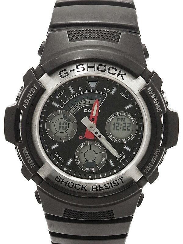 �yCASIO G-SHOCK�z�J�V�I�wG�V���b�N �f�W�A�i�xAW-590-1AJF �����Y �N�H�[�c 1�T�ԕۏy���Áz