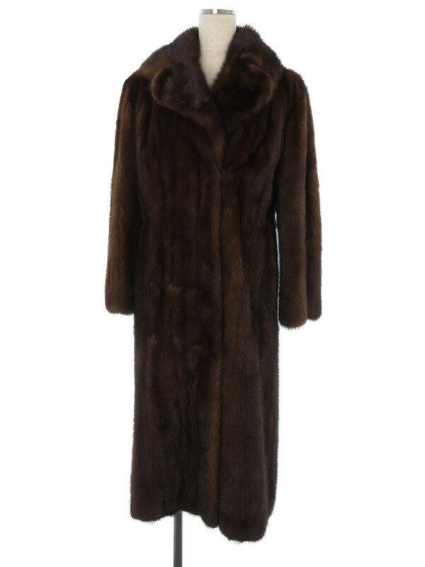 【毛皮】【アウター】ノーブランド『毛皮コート size11』レディース 1週間保証【中古】