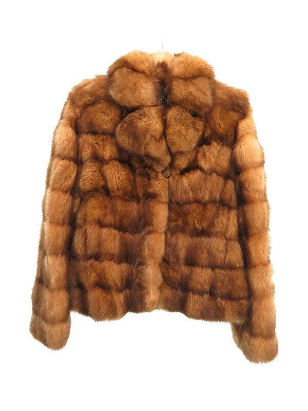 【SOBOL】【アウター】ソボル『ロシアンセーブル毛皮ジャケット』レディース 1週間保証【中古】