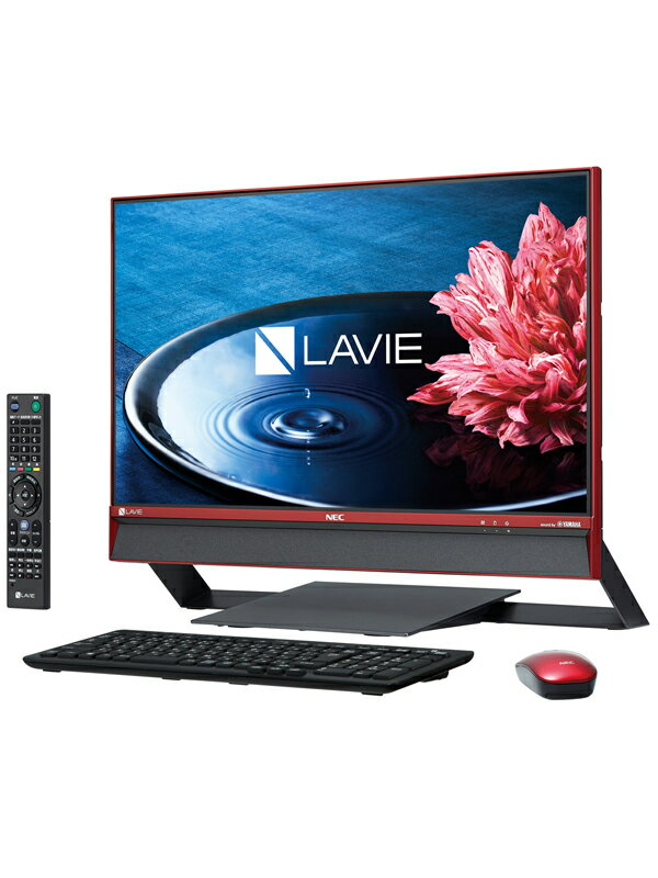NEC�wLAVIE Desk All-in-one DA770/EAR-KS�xPC-DA770EAR-KS �N�����x���[���b�h Windows10 23.8�^FHD 3TB �f�X�N�g�b�vPC�y�V�i�z