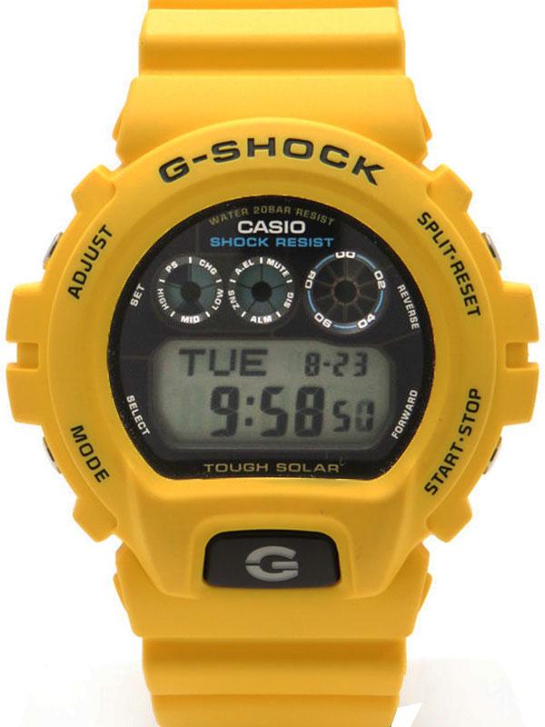 �yCASIO G-SHOCK�z�y�C�O���f���z�J�V�I�wG�V���b�N�xG-6900A-9 �����Y �\�[���[�N�H�[�c 1�T�ԕۏy���Áz