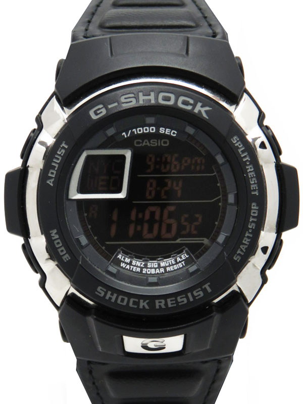 �yCASIO G-SHOCK�z�yG-SHOCK LX�z�J�V�I�wG�V���b�N �G���N���X�xG-7700BL �����Y �N�H�[�c 1�T�ԕۏy���Áz